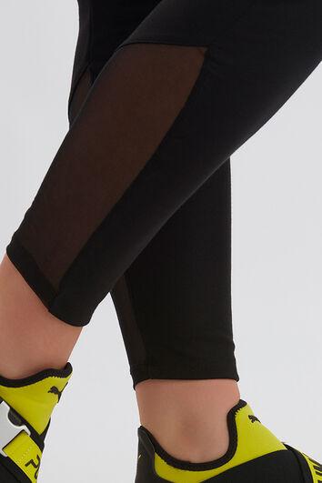 Leggings con malla